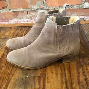 Suede Steve Madden Ankle Boots